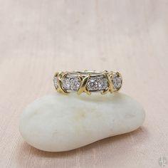 Tiffany & Co Schlumberger Diamond Band