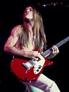 Mark Farner of Grand Funk Railroad- first concert of my concert going career…