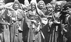 Abkhazians are in Samsun sea port after Circassian - Russian War in 1864