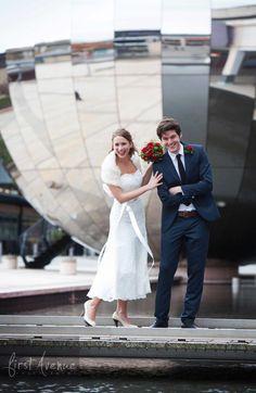 @ Bristol wedding PR shoot