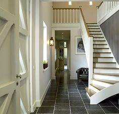 love the enlarged photograph under stairs. How To Make Lanterns, Entry Hallway, Under Stairs, Reading Nook, Southern Living, The Hamptons, Sweet Home, Design Inspiration, House Design