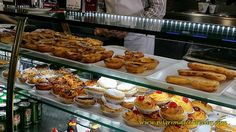 Portuguese pastries, including the pastel de nata, top and center - my favorite!