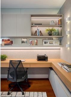 Home Office Layouts, Home Office Setup, Home Office Design, House Design, Business Office Decor, Modern Home Offices, Office Pods, Bedroom Furniture Design, Office Interiors