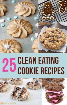 25 Clean Eating Cookie Recipes
