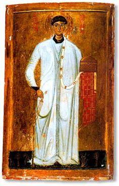 St Stephanos. Icon. Mount Sinai, Holy Monastery of St Catherine