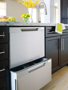 fisher and paykel dishdrawer. Fisher Paykel Dishwasher Drawers Can Also Be Faced With Cabinet Fronts For A Hidden Dw. And Dishdrawer