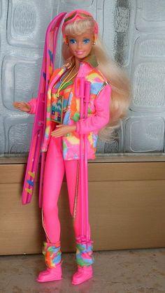 Barbie Ski Fun