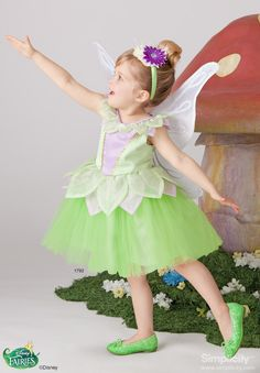 Disney Fairy Tinkerbell Costume for Children & Toddlers! #SimplicityPatterns #Halloween