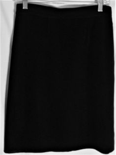 EXCLUSIVELY MISOOK Petite Black Knit Straight Skirt - Petite Small  - PS #ExclusivelyMisook #Straight #exclusively #misook #skirt #knit #black #petite #small #PS