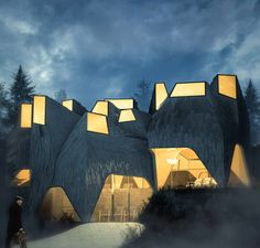 toshiki hirano references alvar aalto's work in museum proposal in finland