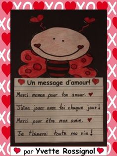 GRATUIT! Pour écrire des messages d'amour à la Saint-Valentin!