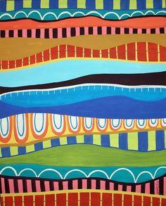 Stripes by Karla Gerard | ArtWanted.com