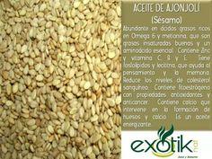 Aceite de Ajonjolí o Sésamo para aromaterapia.   Sesam Sees Oil for armatherapy.