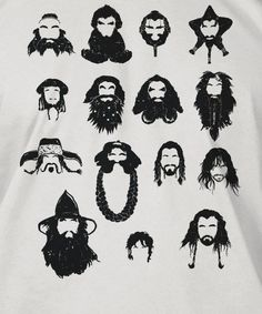 Epic Beards from The Hobbit