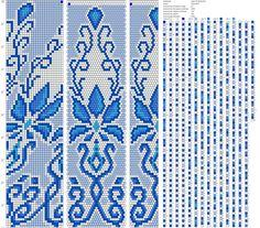 Beaded crochet pattern