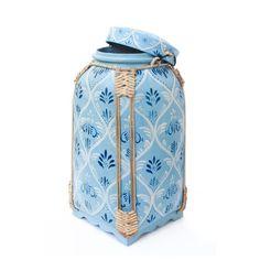 Blue Rice Basket Box. Thai Traditional Handmade & by SiamSawadee