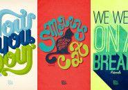 Tipografia x cultura pop, segundo Rachel Krueger