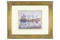 Paulémile Pissarro, À Saint-Rémy 1956 on OneKingsLane.com