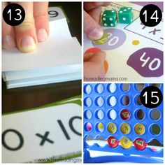 Love the variety in these free math games for third grade through fifth! Printable Math Games, Free Math Games, Fun Math, Math Activities, Fun Games, Grade 3, Fourth Grade, Third Grade, Primary Maths Games