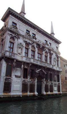Grand Canal - Venice, Italy - Palazzo Belloni Battagia