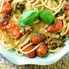 ... Anchovies Aboard on Pinterest | Heirloom tomatoes, Pasta and Spaghetti