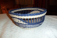 New basket from TX Basket Weavers' Conference. Teacher: Debbie Hurd