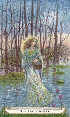 II - La sorcière (La grande prêtresse) - Le conte de fées de Tarot par Lisa Hunt