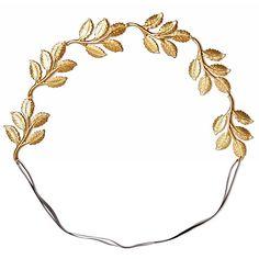 Eddera Greek Leaf Headband $160, store.eddera.com