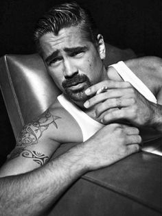 Colin Farrell/ foto by Tom Munro Colin Farrell, Gorgeous Men, Beautiful People, Beautiful Things, Bart Styles, Short Beard, Beard Styles For Men, Celebrity Portraits, Moustaches