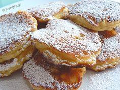 Greek Desserts, Greek Recipes, Breakfast Time, Breakfast Recipes, Apple Pancake Recipe, Greek Cake, Greek Pastries, Pancakes, Caramel Apples