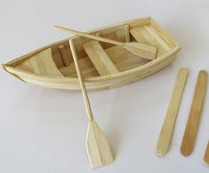 Personalized Ideas: DIY: How to Make Boat with Popsicle Sticks (popsicle s . - Custom Ideas: DIY: How to Make Boat with Popsicle Sticks (popsicle sticks boat tutorial craft) Sour - Popsicle Stick Boat, Popsicle Stick Crafts House, Craft Stick Crafts, Popsicle Stick Birdhouse, Diy Projects With Popsicle Sticks, Craft Sticks, Ice Cream Stick Craft, Boat Crafts, Stick Art