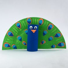 Toilet roll Peacock