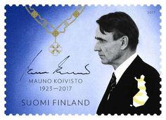 Mauno Koivisto surumerkki.