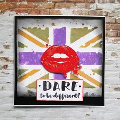 Welcome back for another Visible Image inspiration post. This week I am sharing a card made with another of the fabulous new stencils – the Grungy Union Jack. I teamed it with the Dare To Be …