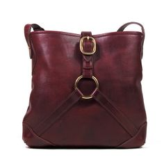 "J.W. Hulme Co. ""Saratoga"" Purebread Classic Style Shoulder Bag.  Product made in America"