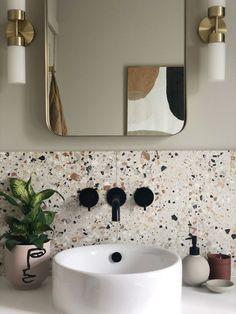 Modern Bathroom Decor, Bathroom Interior Design, Bathroom Designs, Bathroom Ideas, Budget Bathroom, Colourful Bathroom Tiles, Modern Bathrooms, Modern Bathroom Inspiration, Bathrooms Decor