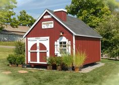 8x8 Firehouse Playhouse $1256. Ships in 2 days in an easy-to-assemble kit! For more information visit our website at www.cottagekits.com