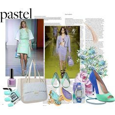 """Voguettes in Pastel!"" by doralicia on Polyvore"