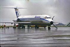 https://flic.kr/p/nh5Bbx | McDonnell Douglas DC-9 | McDonnell Douglas DC-9-32 EC-BIK of Aviaco seen at Bristol Lulsgate in the 1980s