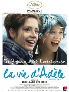 La Vie d'Adèle, longesssssst movie I have ever seen