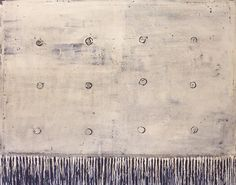 Terri Brooks Artist  - Beige with Black Dots 2004