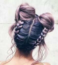 buns, goals, hair, tumblr, hair goals