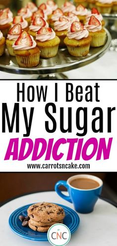 These are the tactics that worked for me as I overcame my nearly life-long addiction to sugar. These tips are very realistic and easy to do, if you are finally ready to end your affair with sugar! Nutrition Program, Nutrition Tips, Health Tips, Beat Sugar Addiction, Carrots N Cake, Macros Diet, Cake Blog, Stop Eating, Clean Eating