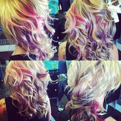 chalk hair | Tumblr