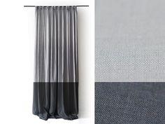 linen curtains custom color color block curtain panel blackout option 1 nautical pinterest color block curtains linen curtain and window coverings