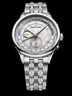 Maurice Lacroix Masterpiece Worldtimer #MauriceLacroix Swiss Watchmakers #horlogerie @calibrelondon