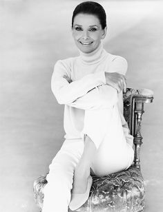 Photograph of Audrey Hepburn by Steven Meisel for Vanity Fair, 1991.