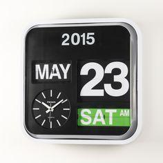 FARTECH Auto Calendar Flip Clock AD-630