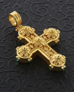 Or Antique, Antique Jewelry, Byzantine Gold, Gold Pendent, Black Gold Jewelry, Cross Paintings, Cross Jewelry, Gold Cross, Necklace Designs