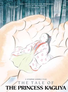 Ghibli Studios' The Tale of Princess Kaguya, Such a brilliant Movie, so calm and a well treasured movie in my life FOREVER!!!
